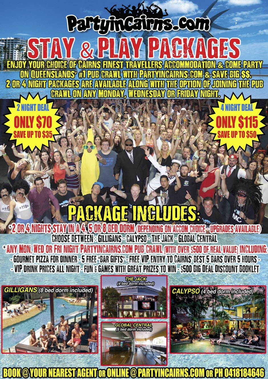 Cairns Stay & Play Packages