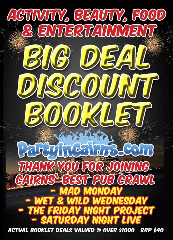 Big Deal Discount Booklet